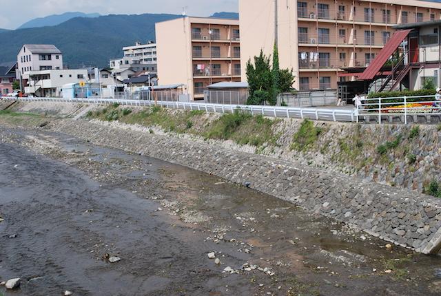 女鳥羽川 改修工事