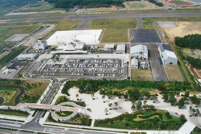 松本空港駐車場建設工事